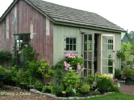 Garden Bloggers Design Workshop Sheds And Outbuildings: outbuildings and sheds
