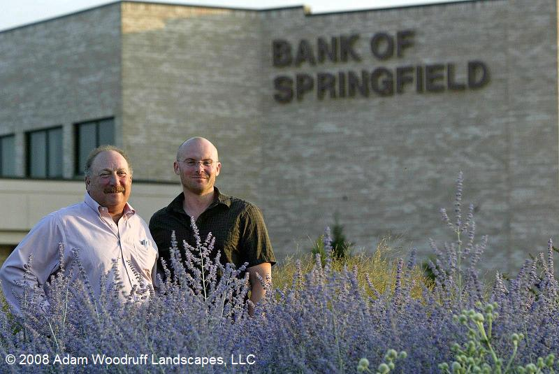 Tom Marantz, Bank of Springfields Chairman &amp; CEO, and Adam Woodruff