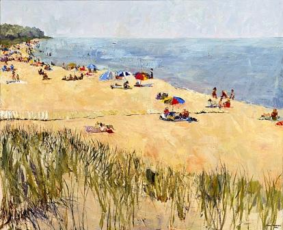 """Oval Beach, Summer"""