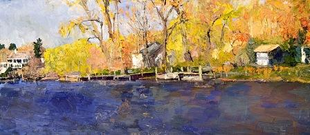 &quot;Springtime, Kalamazoo River, Saugatuck&quot;