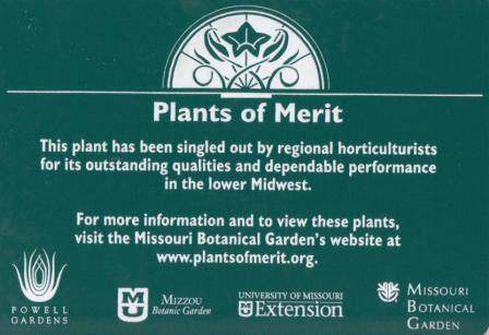 Signage located around the MBG and at participating nurseries identifying POM.