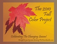 Fall Color Project Badge 2010