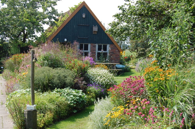 The Jacobs nursery has a vast plant collection in a garden around a traditional north Dutch house.