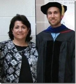Mom and I at PhD grad (2)