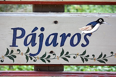 Pajaros sign