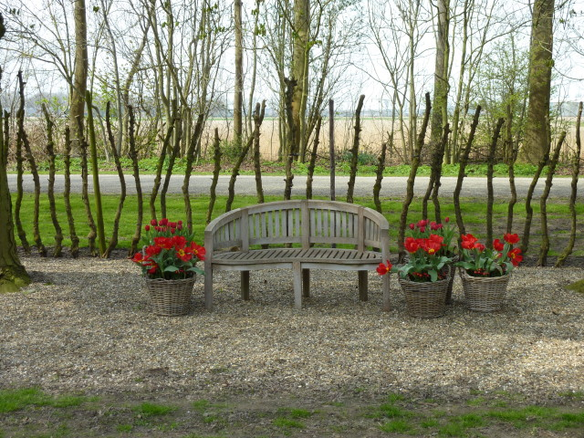 Seating Area - Private Garden In Holland