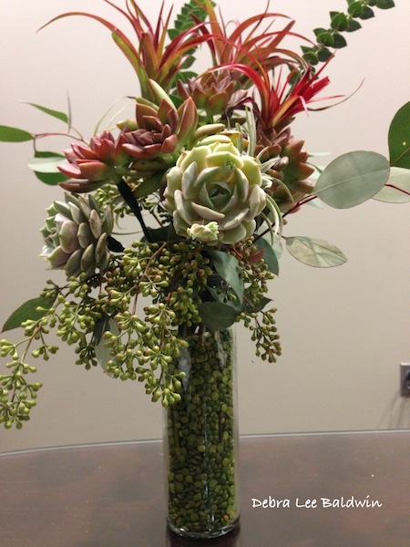 Bouquet labeled