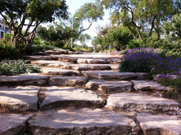 Stone Walkway in Independence Park
