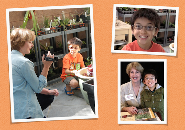 Feb. 28-March 1: At one of my San Diego Spring Home/Garden Show presentations I met succulent enthusiast and collector Matthew, age 10. He found me via my YouTube videos, so it seemed appropriate to make one of him.