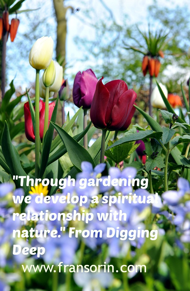 gardening as a sacred and creative act